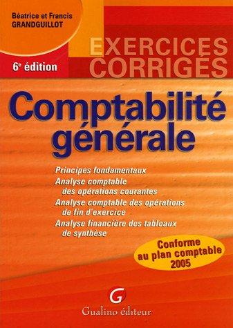 9782842008444: Comptabilité générale
