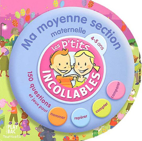 9782842035594: Tournicotis moyenne section (Les p'tits incollables)