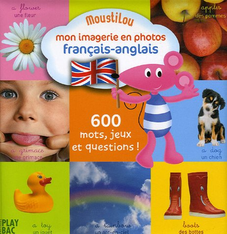 9782842038731: Moustilou - Mon Imagerie En Photos: Francais - Anglais (French Edition)