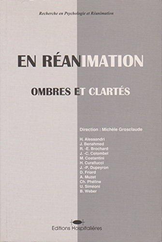 9782842040123: Recherche en psychologie et réanimation : En réanimation, ombres et clartés