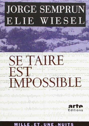 9782842050269: Se taire est impossible (La petite collection)