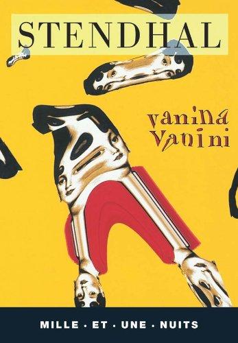 9782842050504: Vanina Vanini