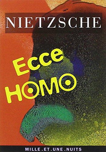 9782842050641: Ecce Homo : Comment on devient ce que l'on est (La petite collection)