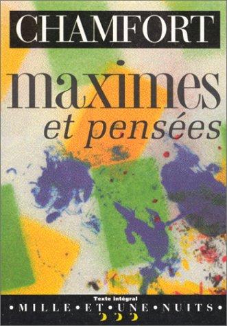 9782842051112: Maximes et pensées (La petite collection)