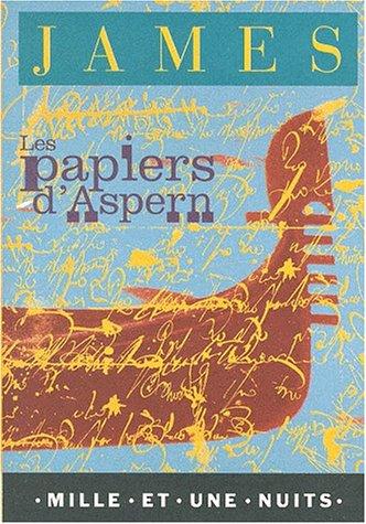 9782842054076: Les Papiers d'Aspern