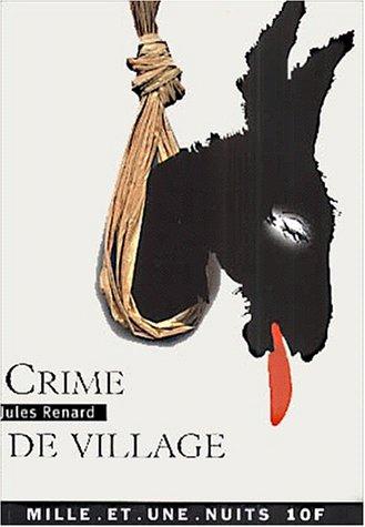 9782842055523: Crime de village