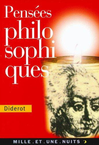 9782842055721: Pensées philosophiques