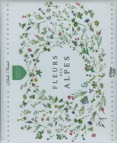 9782842065430: Agenda Fleurs des Alpes