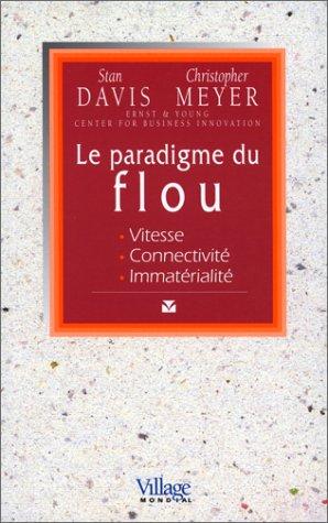 9782842110420: Le Paradigme du flou : Vitesse, connectivité, immatérialité
