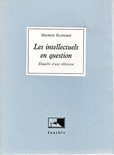 9782842170066: Les Intellectuels en question