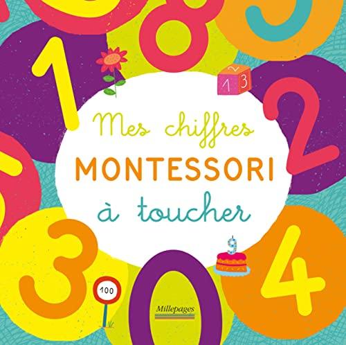 9782842184063: Mes chiffres Montessori à toucher : Dès 4 ans