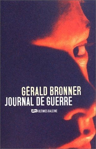 9782842193171: Journal de guerre (French Edition)