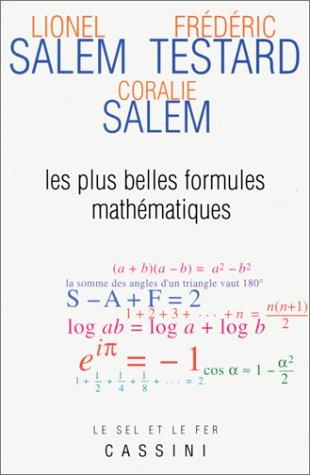 Les plus belles formules mathématiques: Salem