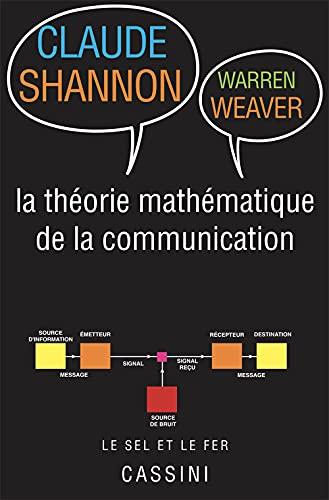 9782842252229: Théorie mathématique de la communication