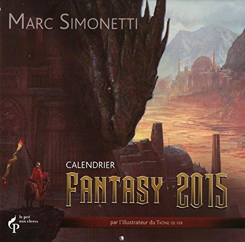 9782842285661: Calendrier Fantasy 2015