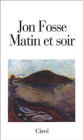 9782842421588: Matin et soir (French Edition)