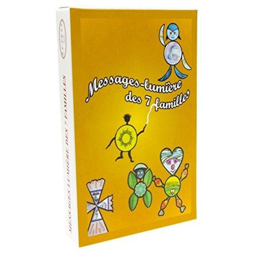 9782842431495: Messages-Lumiere des 7 Familles - 43 Cartes + Livret