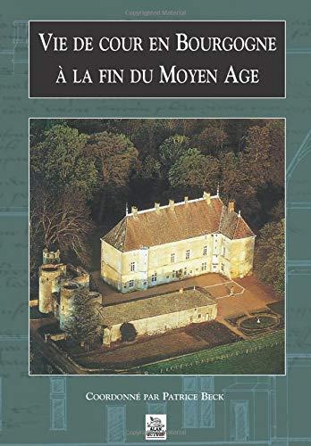 9782842537432: Vie de cour en Bourgogne à la fin du Moyen Age