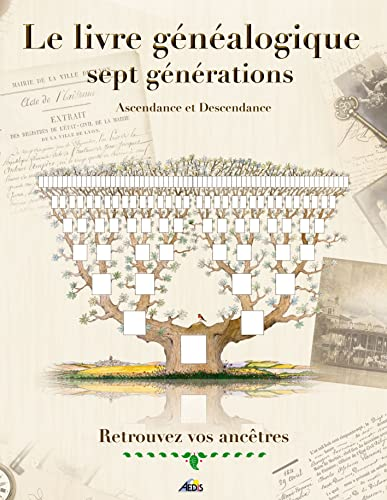 9782842590048: Le livre g�n�alogique sept g�n�rations