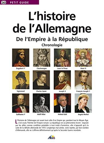 HISTOIRE DE L ALLEMAGNE -L-: PETIT GUIDE 243