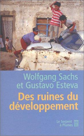 9782842614287: Des ruines du développement