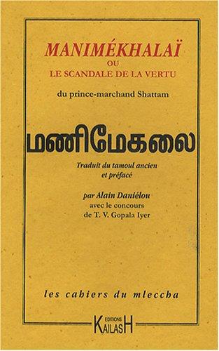 9782842681630: Manimékhalaï ou le scandale de la vertu
