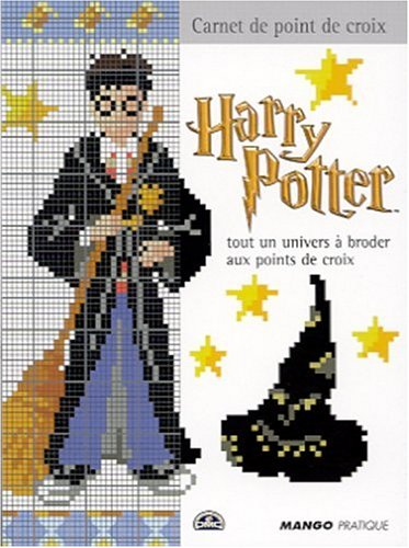 9782842702861: Harry Potter. Tout un univers à broder au point de croix (Carnet de point de croix)