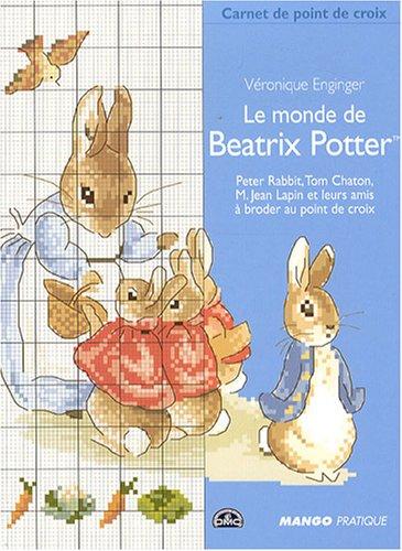 9782842706326: Le monde de Beatrix Potter (Carnet de point de croix)