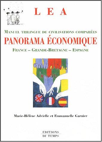 9782842743000: Panorama économique : Civilisations comparées France - Grande-Bretagne - Espagne