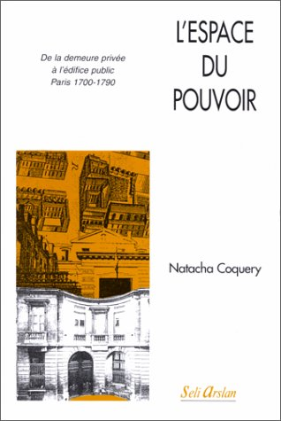 9782842760342: L'espace du pouvoir (French Edition)