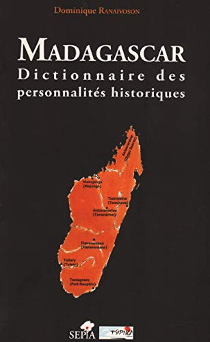 9782842801014: Madagascar dictionnaire des personnalites historiques