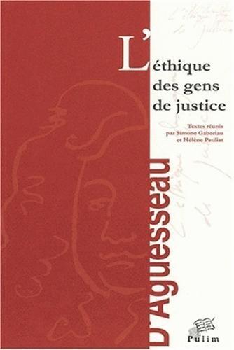 9782842871895: Ethique des gens de justice.