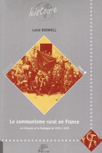 9782842873899: Le communisme rural en France (French Edition)