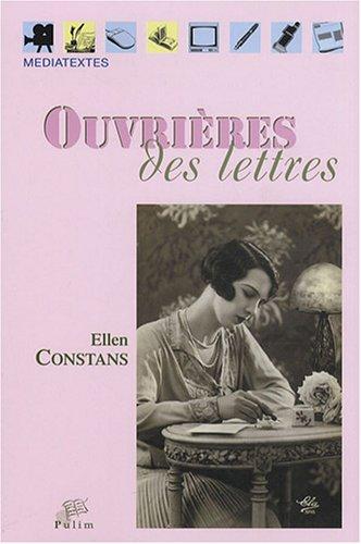 9782842874407: Ouvrières des Lettres (Médiatextes)