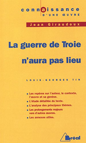 9782842911591: La Guerre de Troie n'aura pas lieu, de Giraudoux
