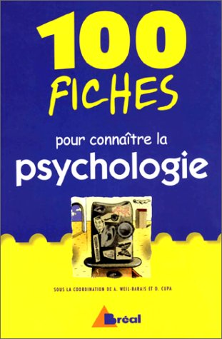 9782842913175: 100 fiches pour connaître la psychologie