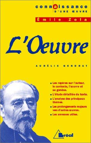 L Oeuvre, Emile Zola: Gendrat, Aurélie