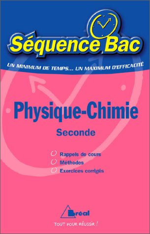 Sb physique chimie seconde