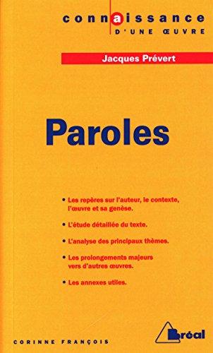9782842917029: Paroles, Jacques Prévert
