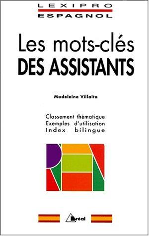 9782842917883: Lexipro espagnol assistants