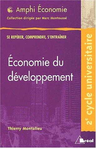 Economie du developpement (amphi) (French Edition): Breal