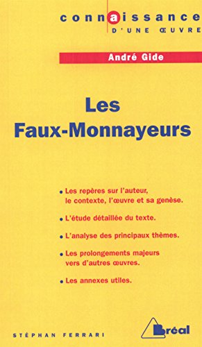 9782842918255: Les faux-monnayeurs - gide (French Edition)