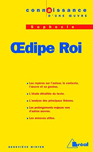9782842918682: Oedipe-roi - sophocle (French Edition)