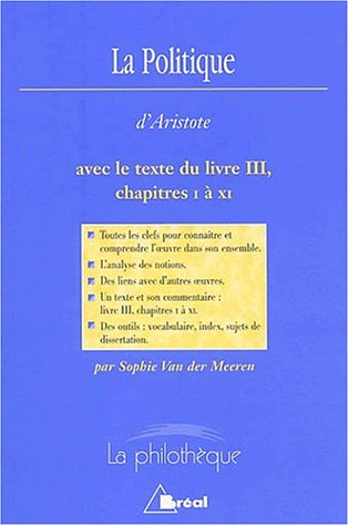 9782842919504: La Politique d'Aristote. (French Edition)