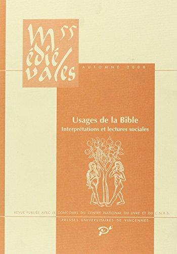 Médiévales n 55 : Usages de la: Michel Lauwers, Emmanuel