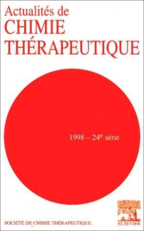 9782842990572: Actualites de Chimie Therapeutique 1998 - 24e Serie - 24th Series
