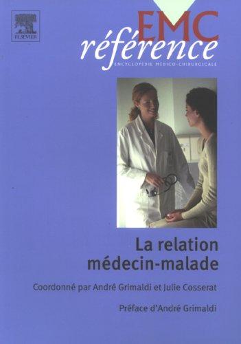 9782842996109: la relation medecin malade