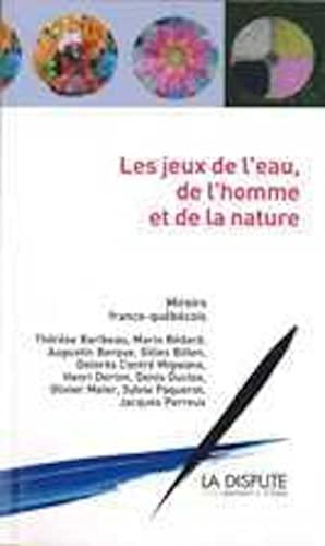 EAU DE L'HOMME L'EAU DE LA NATURE (L'): COLLECTIF