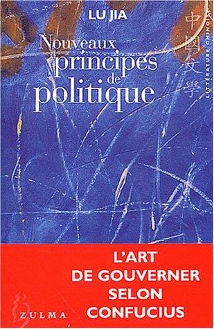 9782843042607: Nouveaux Principes de politique