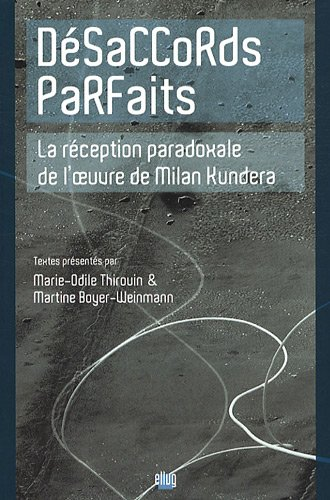 DÃ saccords parfaits (French Edition): Marie-Odie; Boyer-Weinmann, Martine (eds.) Thirouin